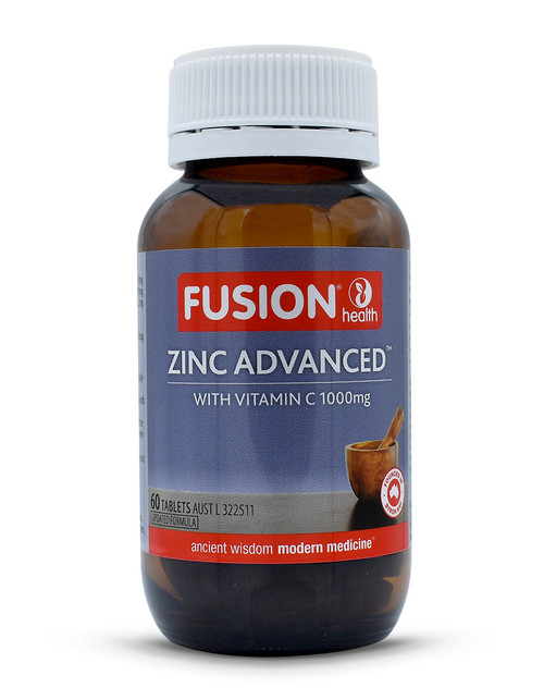 Fusion Health Zinc Advanced 60 tabs