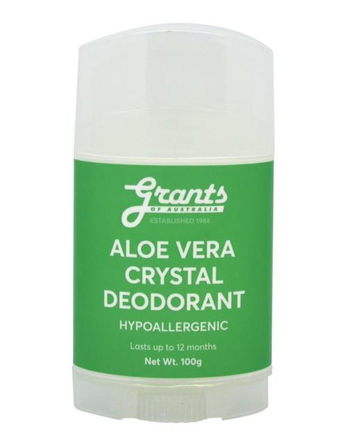 Grants of Australia Aloe Vera Crystal Deodorant 100g