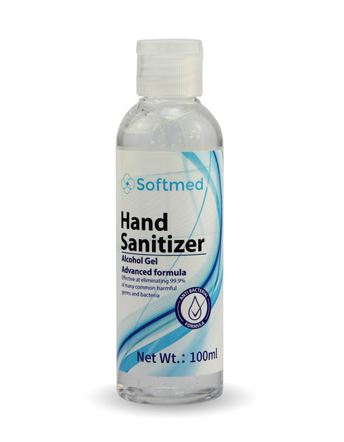 Softmed Advanced Formula Hand Sanitiser 100ml