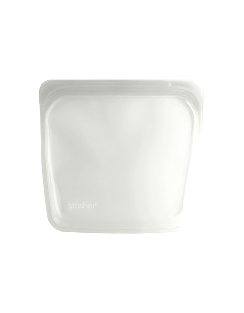 Stasher Silicone Bag - Sandwich Size - Clear