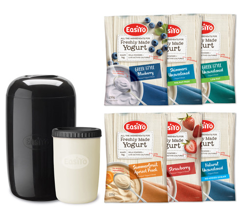 EasiYo Home made Yogurt Starter Kit Large