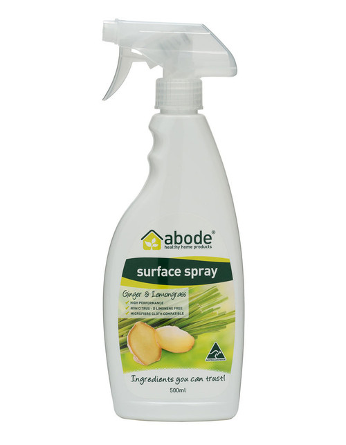 Abode Surface Cleaner Ginger & Lemongrass 500ml