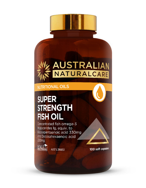 Super Strength Fish Oil