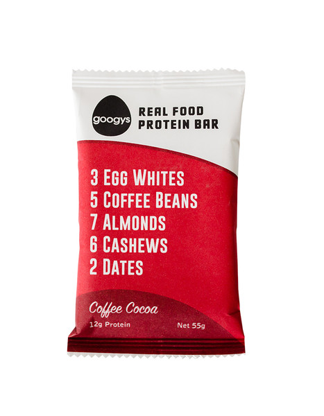 Googys Natural Protein Bar Coffee Cacoao 55g