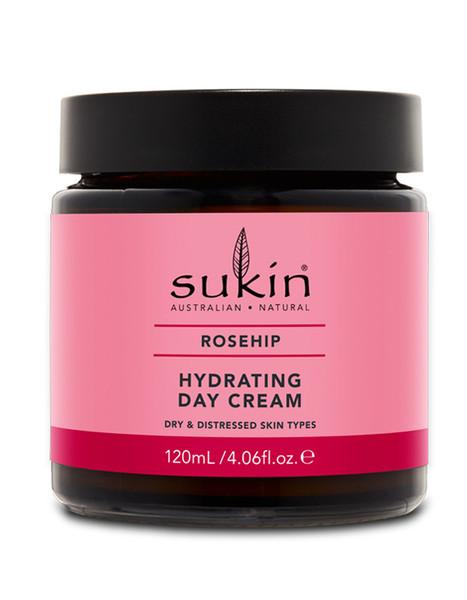 Sukin Rosehip Hydrating Day Cream (120ml)