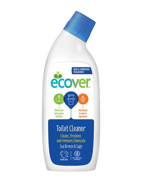 Ecover Toilet Cleaner Sea Breeze & Sage (750ml)