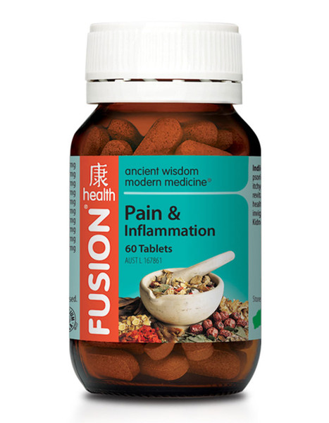 Fusion Health Pain & Inflammation 60 Tabs
