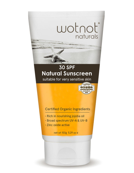 wotnot Natural Protection 30+ SPF Sunscreen - 150g
