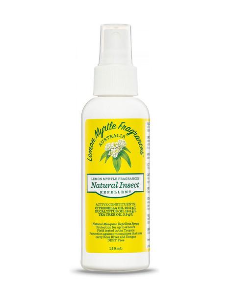 Lemon Myrtle Fragrances Natural Insect Repellent 125ml