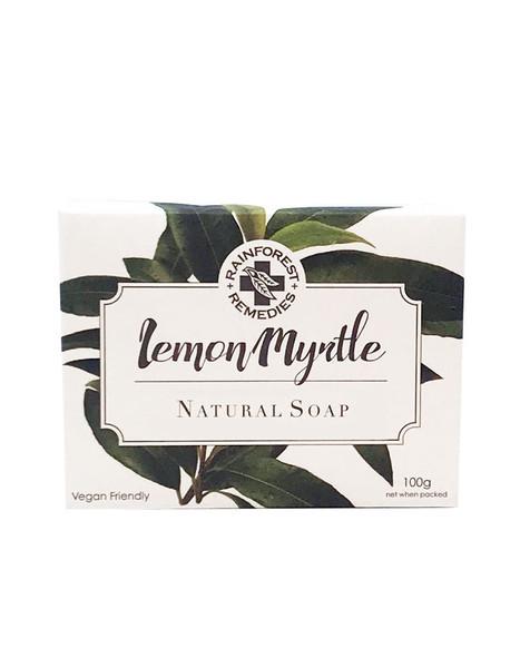 Rainforest Remedies Lemon Myrtle Plain Soap 100g