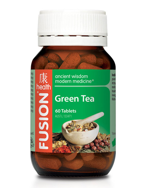 Fusion Health Green Tea 60 Tabs