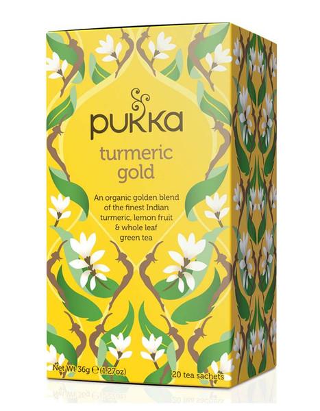 Pukka Herbs Turmeric Gold Tea Bags - 20 bags