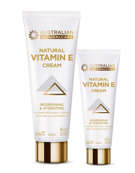 Pack of Vitamin E Cream - 50gm & 125gm