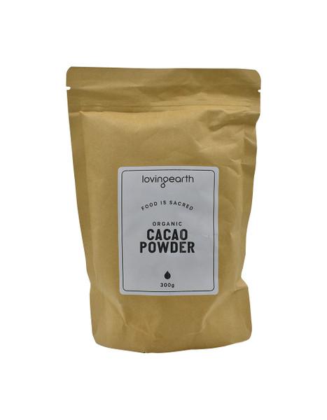 Loving Earth Raw Organic Cacao Powder 300g
