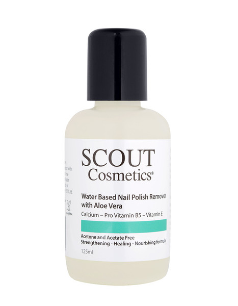 Scout Cosmetics Nail Polish Remover with Aloe Vera & Vitamin E 125ml