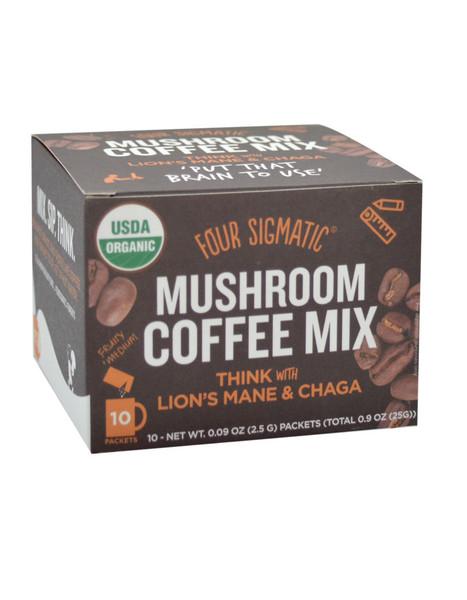 Four Sigmatic Mushroom Coffee With Lion's Mane 10 x 2.5g