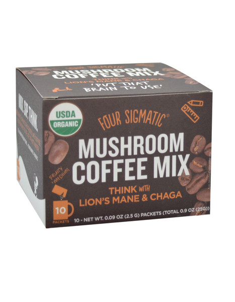 Four Sigmatic Mushroom Coffee With Lion's Mane 10 x 2.5g