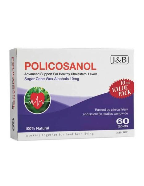 J&B Policosanol 60 tabs