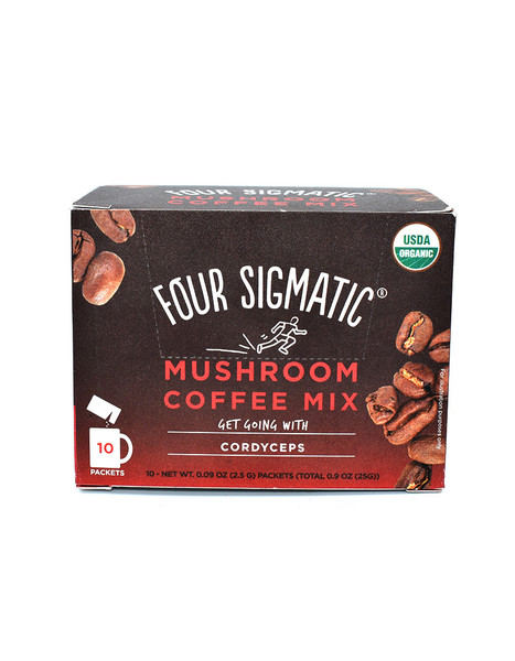 Four Sigmatic Mushroom Coffee with Cordyceps 10 x 2.5g