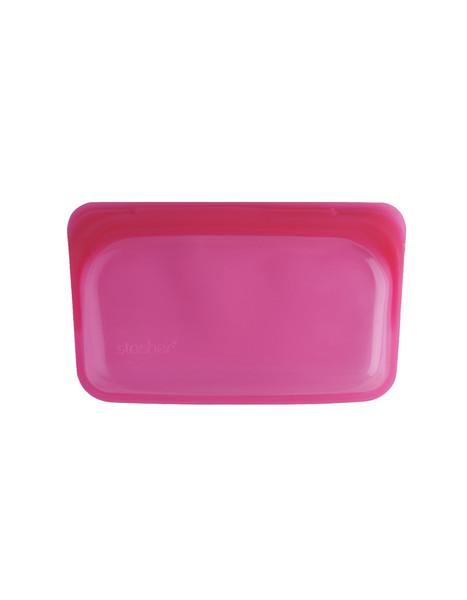 Stasher Silicone Bag - Snack Size - Raspberry