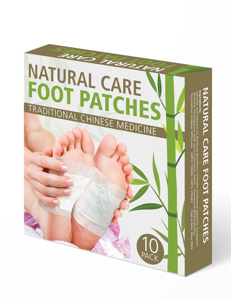 Natural Care Foot Patches 10 per box