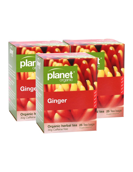 Planet Organic Ginger value pack 75 bags