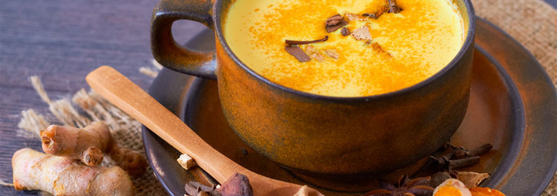 Anti-inflammatory Golden Milk Turmeric Tea Recipe