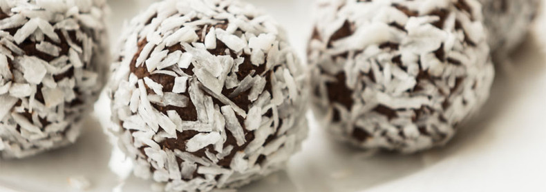 Mint Brownie Balls Recipe
