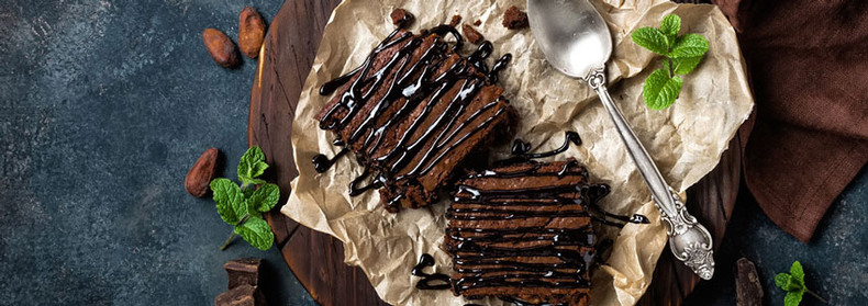 Amazing Choc Brownies - Healthy, Vegan, Gluten- free!