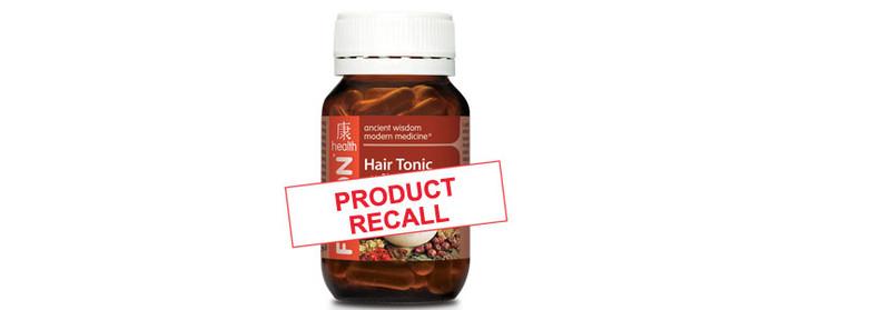 Fusion Hair Tonic Recall