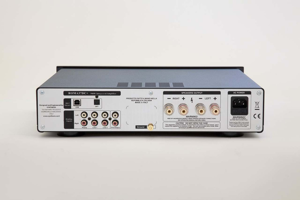 Synthesis Roma 37DC+ Hybrid Integrated Amplifier