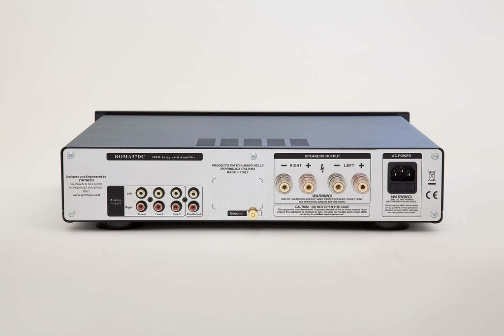 Synthesis Roma 37DC Hybrid Integrated Amplifier