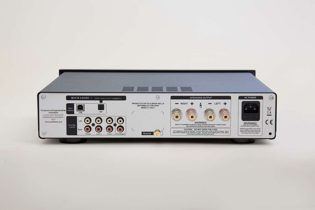 Synthesis Roma 81DC Digital Integrated Amplifier