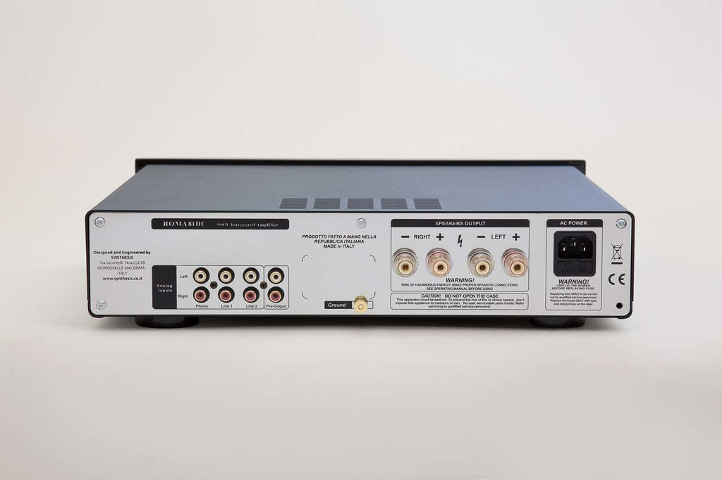 Synthesis Roma 81DC+ Digital Integrated Amplifier