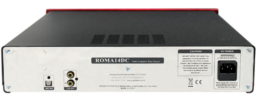 Synthesis Roma 14DC Tube CD Player