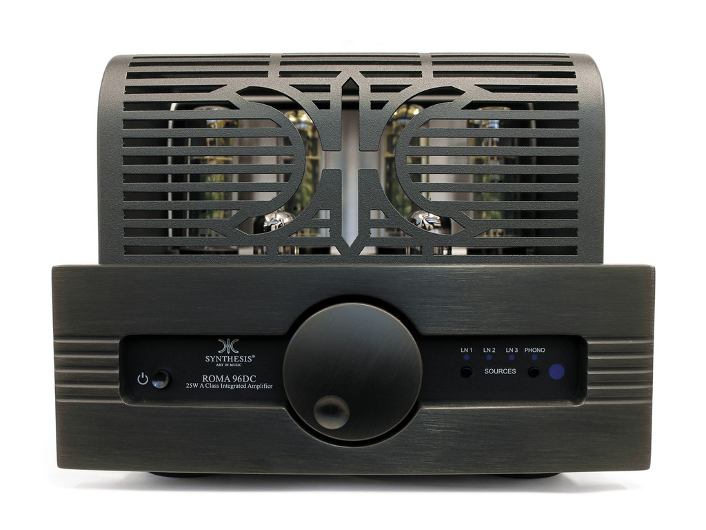 Synthesis Roma 96DC Integrated Valve Amplifier Black Aluminium