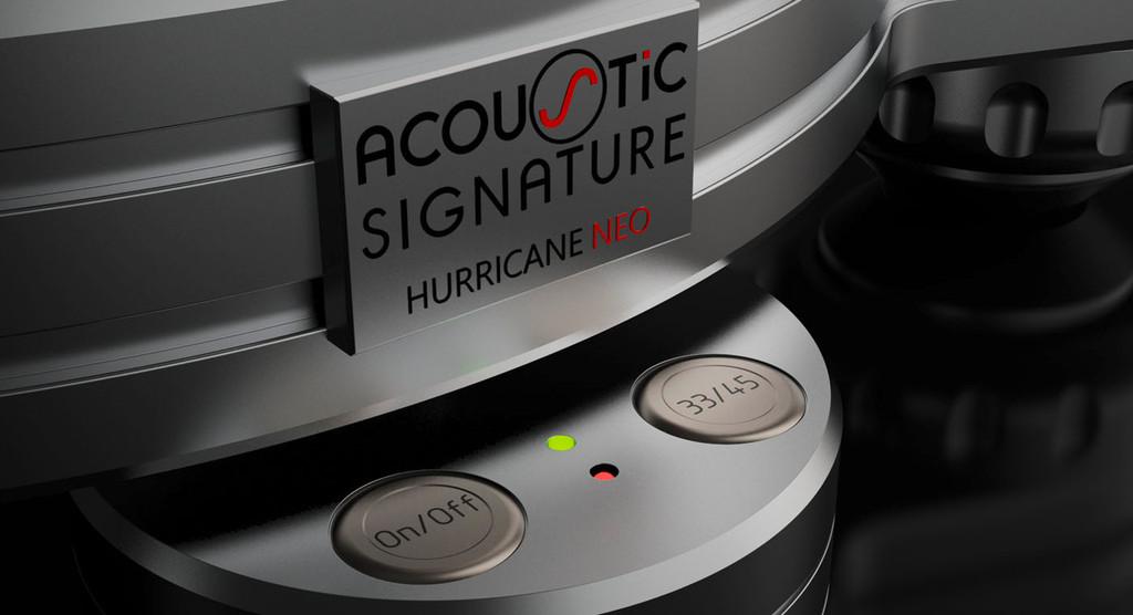 Acoustic Signature Hurricane Neo Turntable