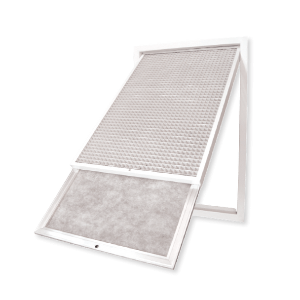 Return Air Grille with Hinged Filter Type EC-HF