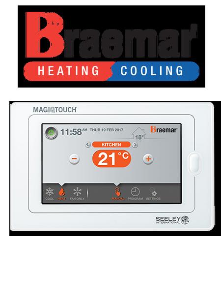 Braemar MagIQtouch Touch Screen Controller