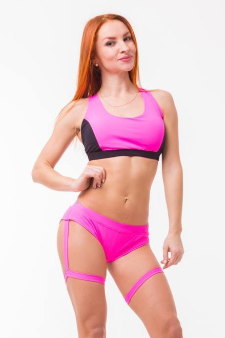 Fitness Shorts Style Pink