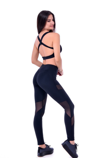 Pole Dance Leggings Lucy Black