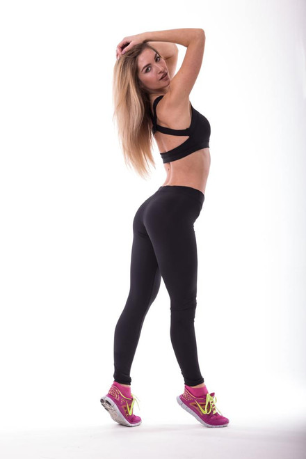 Pole Dance Leggings Jenna Black