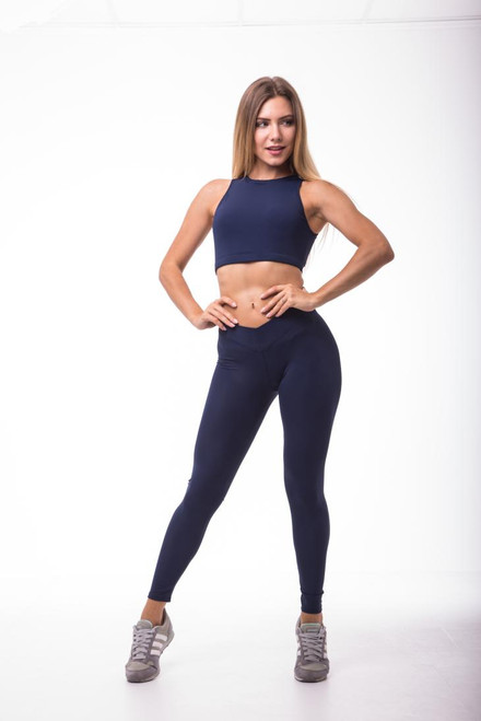 Pole Dance Leggings Jenna Indigo