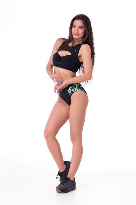 Pole Dance Shorts Onyx Black-Camo