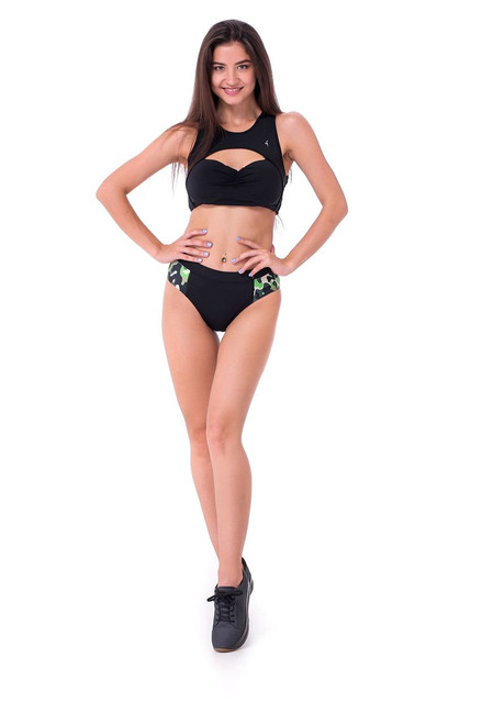 Yoga Shorts Onyx Black-Camo