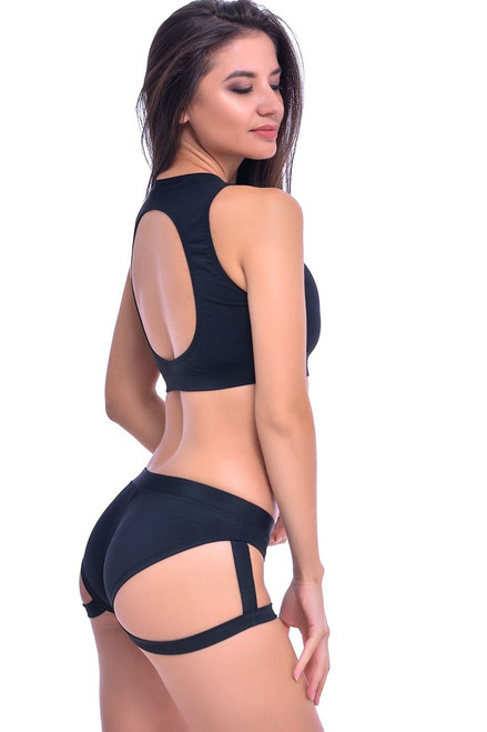 Yoga Top Amber Black