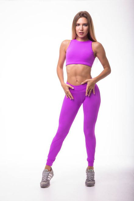 Pole Dance Leggings Ella Fuxia