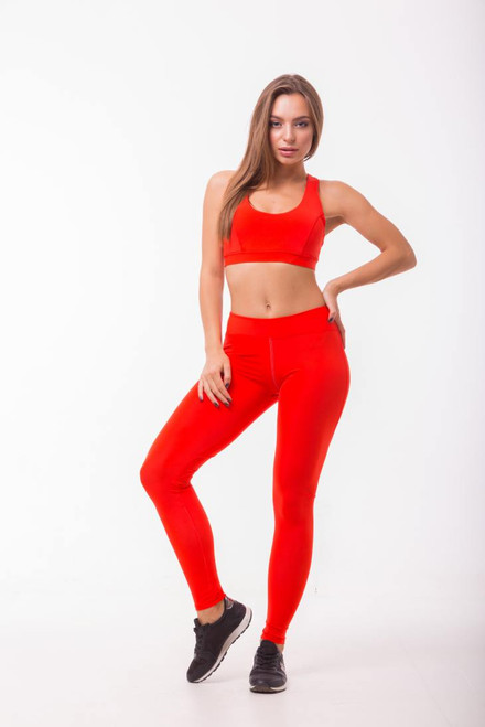 Pole Dance Leggings Ella Red