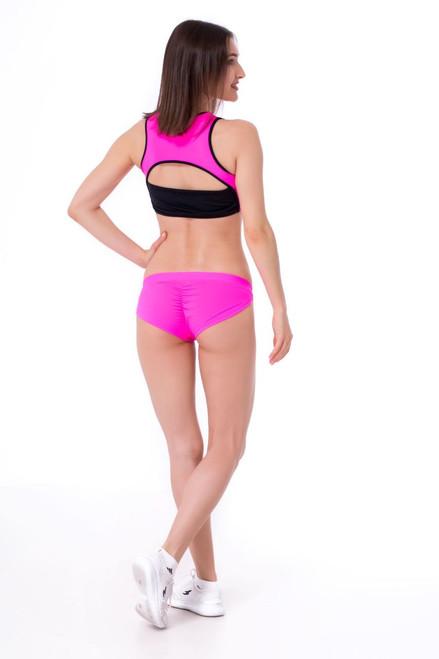 Pole Dance Shorts Pyrope Pink