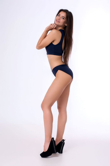 Yoga Shorts Pyrope Indigo